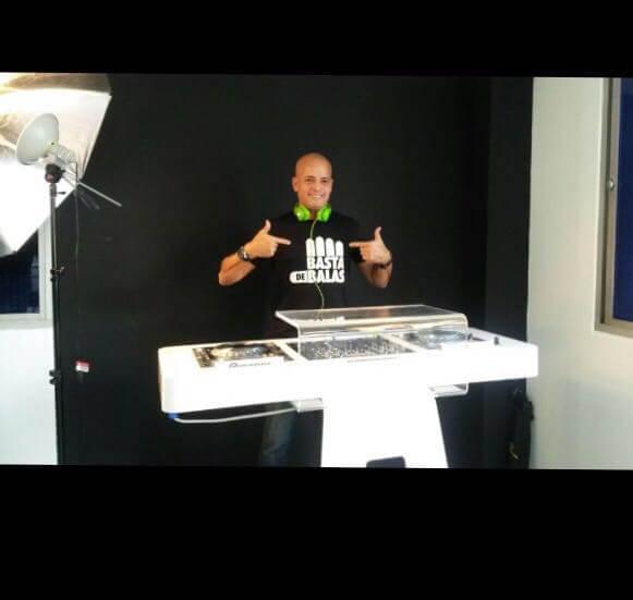 DJ OSCAR LEAL CAMPAÑA AMNISTIA